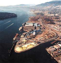 Vancouver Wharves Limited (Kinder Morgan) -- North Vancouver, BC
