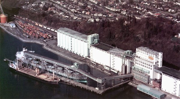 Saskatchewan Wheat Pool (Cargill Limited) -- North Vancouver, British Columbia